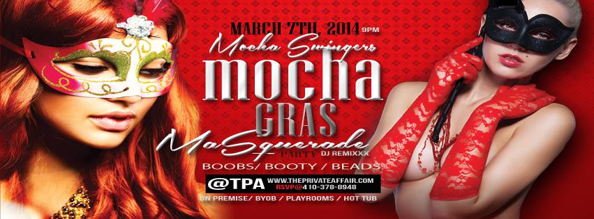 Mocha Swinger Party at TPA