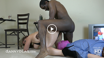 Human Matress Eats Creampie In PAWG Hotwife