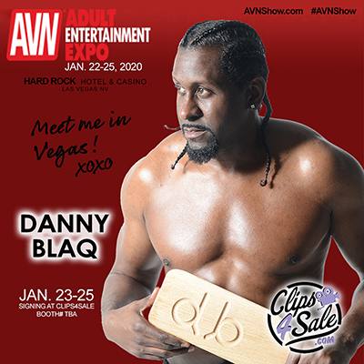 Danny at AVN Expo Vegas 2020 Clips4Sale Booth